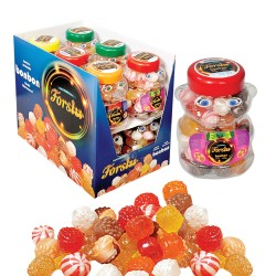Bonbon With Mixed Flavour - Pet Jar - 400 GR.