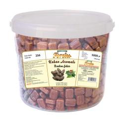 Bonbon With Cocoa Flavour - Plastic Bucket - 4500 GR.