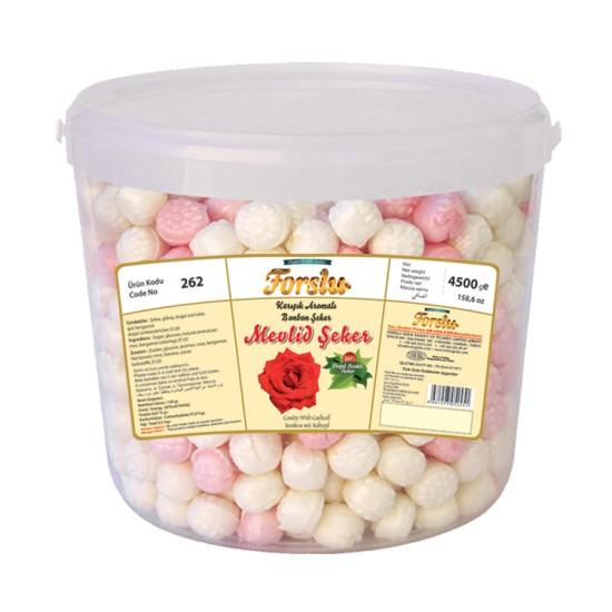 Mevlid Candy - Plastic Bucket - 4500 GR.