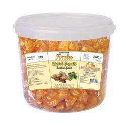 Bonbon With Peanuts - Plastic Bucket - 5000 GR.