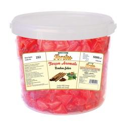 Bonbon With Cinnamon Flavour - Plastic Bucket - 5000 GR.