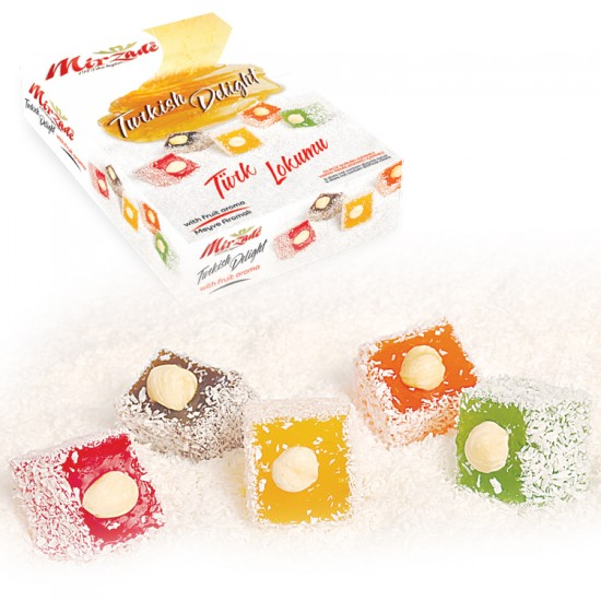 Turkish Delight With Orange Flavour - 2500 GR.