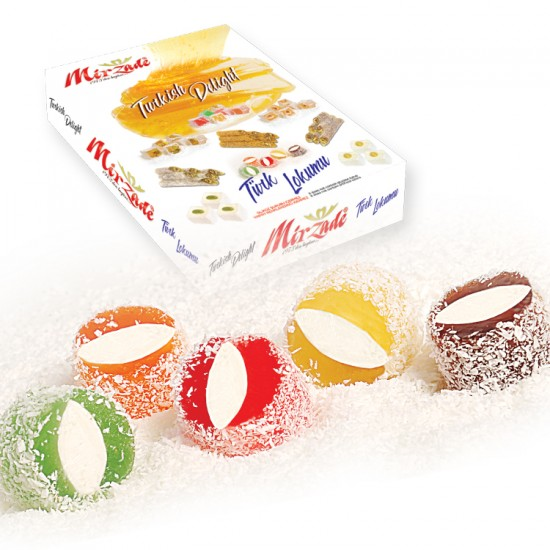 Sultan Turkish Delight With Strawberry Flavour - 3000 GR.